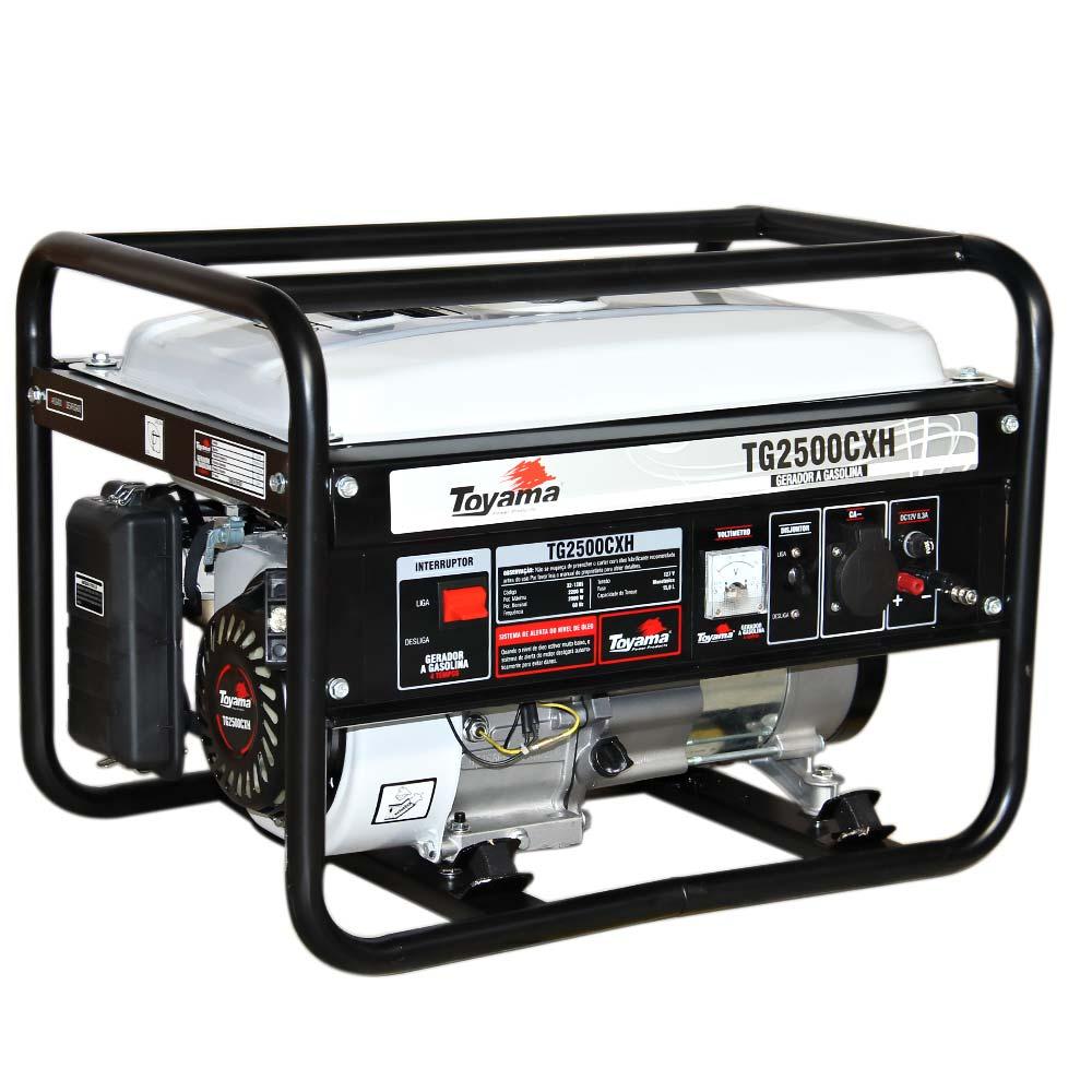 Gerador de Energia a Gasolina Toyama CXH