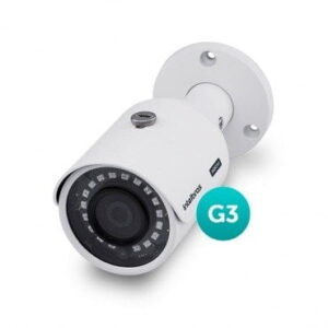 Camera Intelbras Multi HD Bullet VHD 3130b G3 720p 30Mts 2.8mm HDCVI, HDTVI, AHD, ANALÓGICO