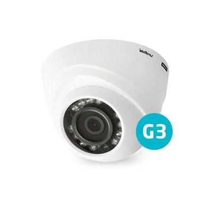 Camera Intelbras Multi HD Dome VHD 1120D G3 720p 20Mts 2.8mm - HDCVI, HDTVI, AHD, ANALÓGICO