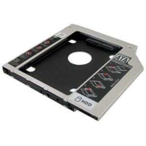 Case Adaptador para HD de NOTEBOOK CADDY - 12.7mm - SATA