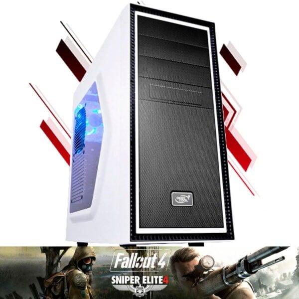 Computador Gamer Bull RX 570 4GB, Ryzen 5 2600, 8GB, 1TB