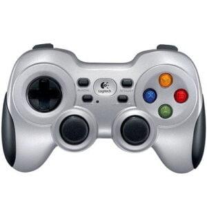 Controle Sem fio Logitech Para PC/TV F710