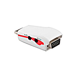 Conversor Adaptador HDMI para VGA + Áudio 5V