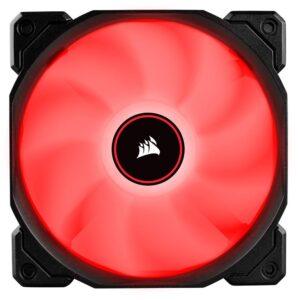 Cooler FAN Corsair AF120 LED Vermelho, 120mm
