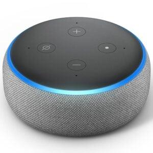 Echo Dot Amazon Smart Home Alexa Cinza 3ª Geração