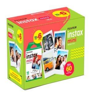 Filme Fotográfico Fujifilm Instax Mini - 60 Fotos