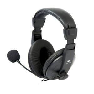 Fone Com Microfone Headset C3tech PH-60 Voicer Comfort - Preto