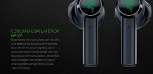 Fone de Ouvido Bluetooth Razer Hammerhead True Wireless, 13mm, Recarregável, Resistente a Água - Mercury White