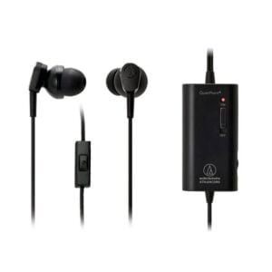 Fone de ouvido Com Microfone Intra-auricular Audio-Technica Preto - ATH-ANC33iS