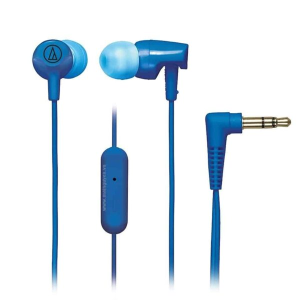 Fone de ouvido Com Microfone Intra Auricular Audio-Technica Preto - ATH-CLR100ISBK