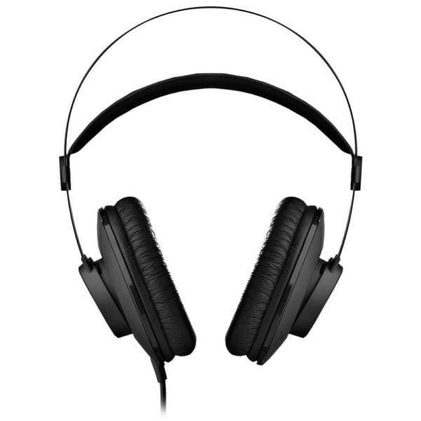 Fone de Ouvido Profissional AKG K52 P2 Com Adaptador P10