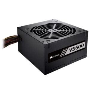 Fonte Corsair VS600, 600W, 80 Plus White