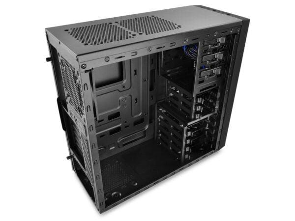 Gabinete Gamer ATX Deepcool Tesseract Blue Sem fonte