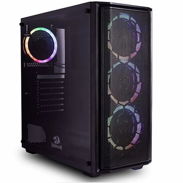 Gabinete Gamer Mid Tower Redragon Ramhorn – GC-908