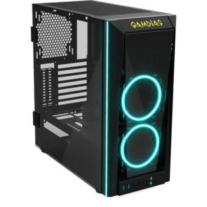 Gabinete Gamer RGB ATX Gamdias Talos M1 Mid Tower