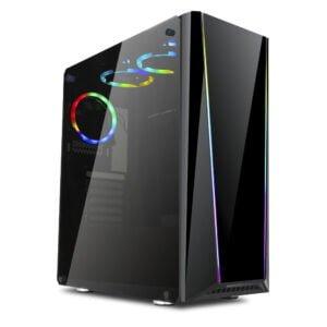 Gabinete Gamer RGB ATX Mid Tower Redragon Tailgate – GC702
