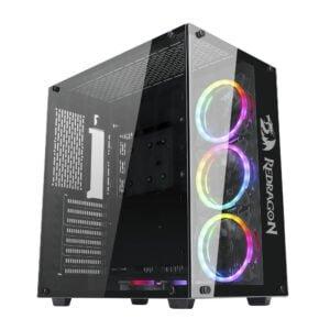 Gabinete Gamer RGB ATX Mid Tower Redragon Wideload – GC802