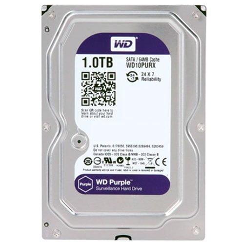 Hd 1Tb Wd Western Digital Dvr Sata 3 64Mb Cache Purple WD10PURX