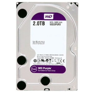 Hd 2Tb Wd Western Digital Dvr Sata 3 64Mb Cache Purple WD20PURX