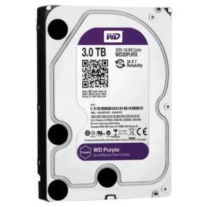 Hd 3Tb Wd Western Digital Dvr Sata 3 64Mb Cache Purple WD30PURX