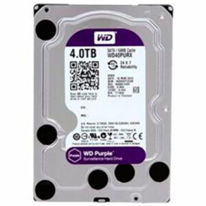 Hd 4Tb Wd Western Digital Dvr Sata 3 64Mb Cache Purple WD40PURX