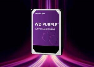 Hd 4Tb Wd Western Digital Dvr Sata 3 64Mb Cache Purple WD40PURX