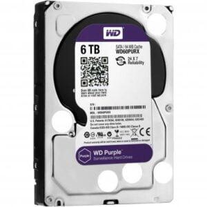 Hd 6Tb Wd Western Digital Dvr Sata 3 64Mb Cache Purple WD60PURX