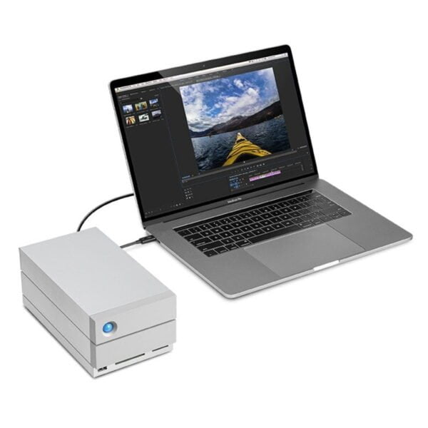 HD Externo LaCie 2Big Dock 8TB Thunderbolt 3 e USB 3.0- STGB8000400