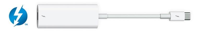 /><br /> * O Mac deve estar executando o Mac OS Sierra 10.12 ou superior e as taxas de transferência são baseadas na velocidade da conexão, até 10Gb / s para o Thunderbolt e até 20Gb / s para o Thunderbolt 2. Para obter detalhes e possíveis restrições, consulte <a href=
