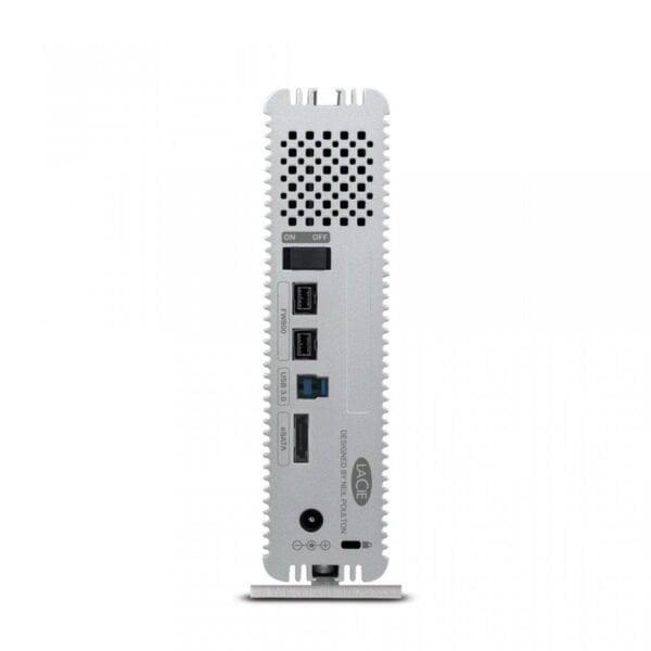 HD Externo LaCie D2 Quadra 4TB e-SATA 3Gb USB 3.0 FireWire 800 - LAC9000258U