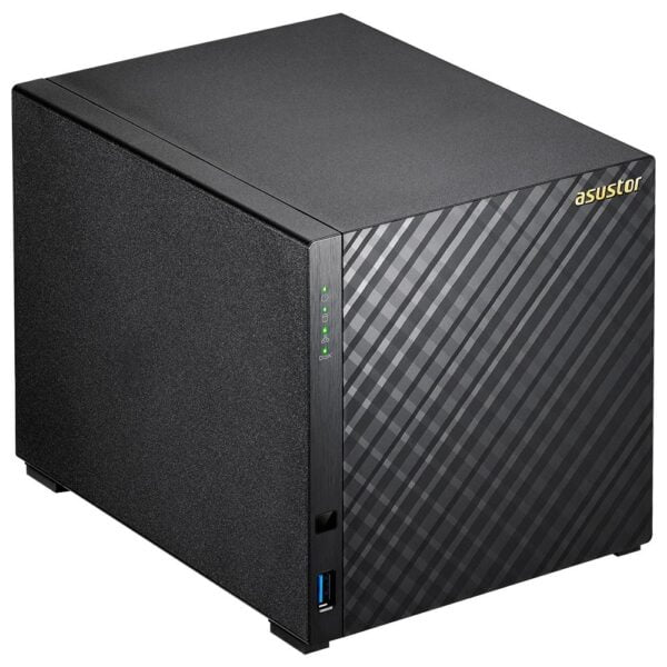 Hd Externo Nas Asustor 4 Baias Quad Core 1.6/2.48GHz S/ HD – AS3204T