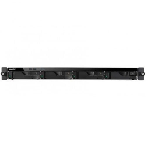 Hd Externo Nas Asustor Rack 1U 4 Baias Quad Core 1.6/2.24GHz S/ HD – AS6204RS
