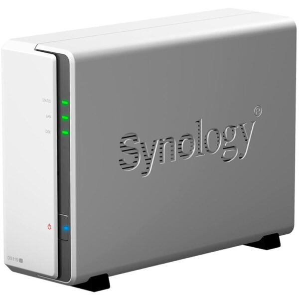 HD Externo Nas Synology Diskstation 1 Baia Dual Core 800 MHz – DS119j