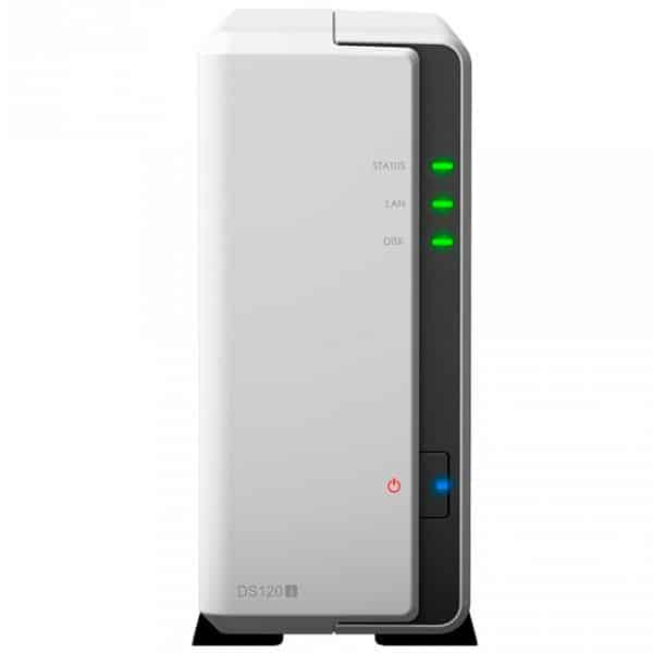 HD Externo Nas Synology Diskstation 1 Baia Dual Core 800 MHz -DS120J