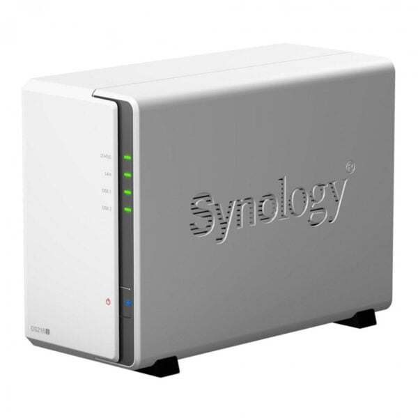 HD Externo Nas Synology Diskstation 2 Baias Dual Core 1.3 GHz - DS218j