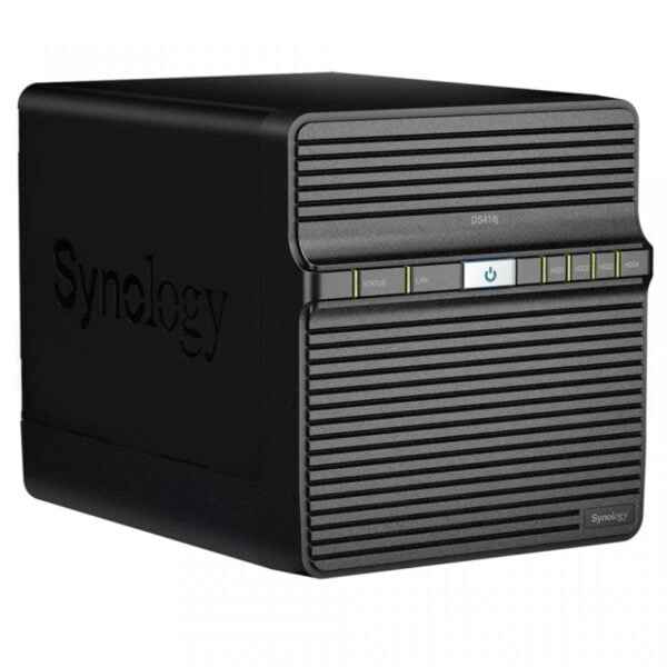 HD Externo Nas Synology Diskstation 4 Baias Dual Core 1.4 GHz – DS418j