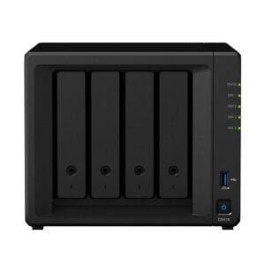 HD Externo Nas Synology Diskstation 4 Baias Quad Core 1.5/2.3 GHz – DS918+