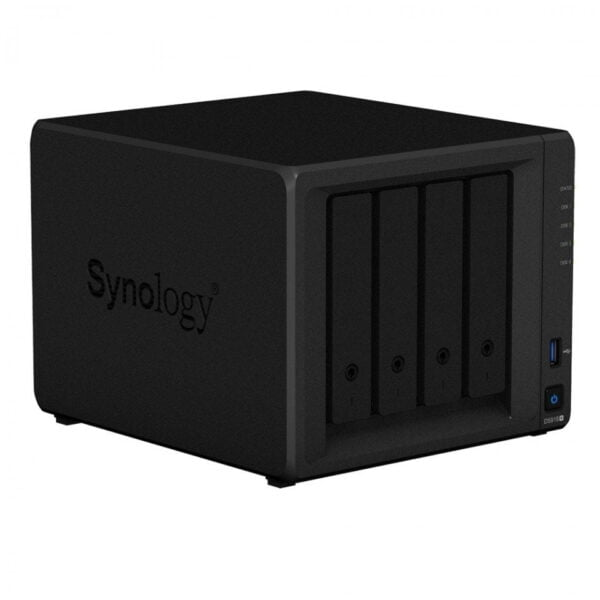 HD Externo Nas Synology Diskstation 4 Baias Quad Core 1.5/2.3 GHz – DS918+