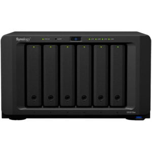 HD Externo Nas Synology Diskstation 6 Baias Dual Core 2.2/2.6 GHz – DS3018xs