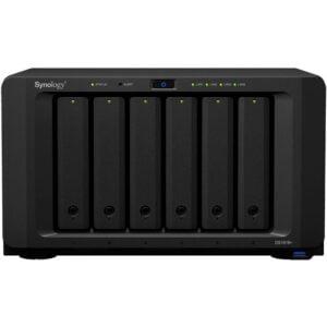 HD Externo Nas Synology Diskstation 6 Baias Quad Core 2.1 GHz – DS1618+