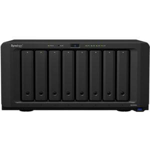 HD Externo Nas Synology Diskstation 8 Baias Quad Core 2.1 GHz – DS1819+