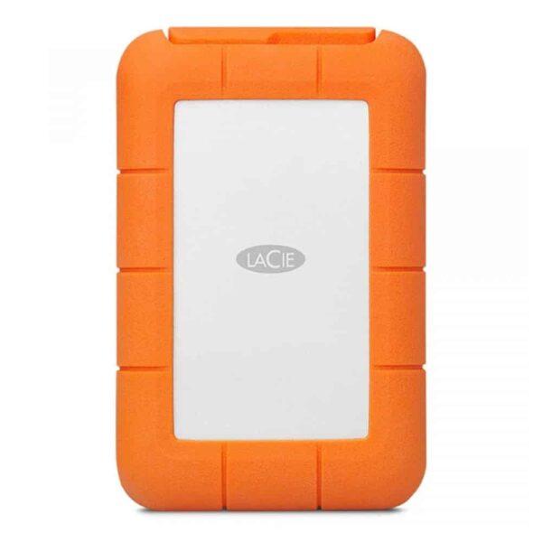 HD Externo Portátil 4TB LaCie Rugged USB-C USB3.0 - STFR4000800