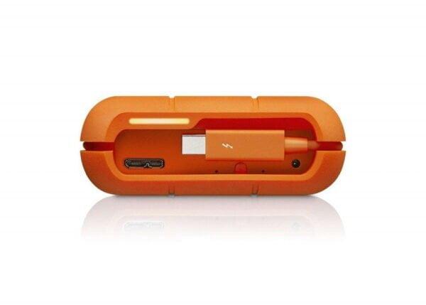 HD Externo Portátil LaCie Rugged 4TB USB 3.0 Thunderbolt RAID - STFA4000400