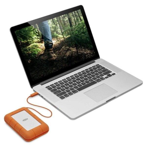HD Externo Portátil LaCie Rugged Triple 2TB USB 3.0 FireWire 800 - LAC9000448