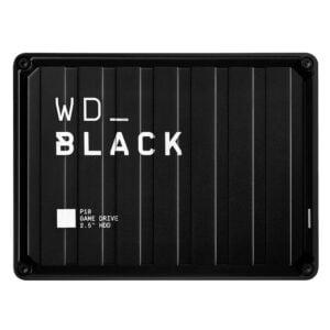HD Externo Portátil WD Black P10 Game Drive 4TB, USB 3.2 - WDBA3A0040BBK