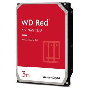 HD Interno 3TB Nas WD RED Sata 3 6Gb/S - WD30EFAX