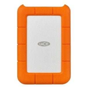 HD LaCie Externo Rugged Mini, 4TB, USB, Clay Orange