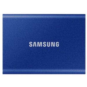 HD SSD Externo 1TB portátil T7 Samsung USB 3.2 - Azul