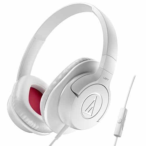 Headphone Para Smartphone Com Microfone Audio-Technica Preto - ATH-AX1ISBK