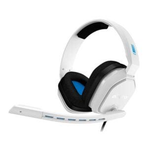Headset Gamer Astro A10 Branco e Azul PS4, Nintendo Switch e PC - 939-001853